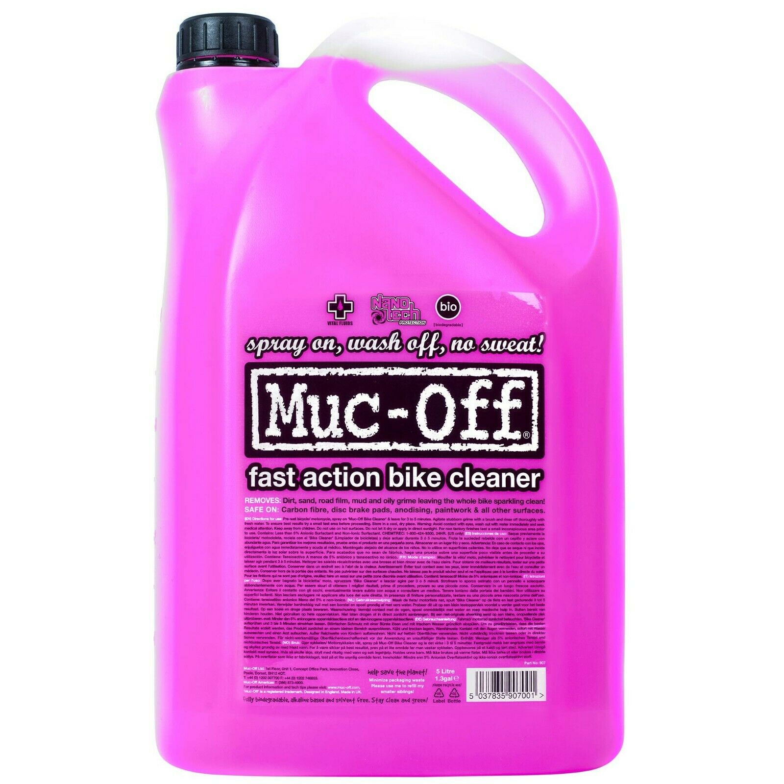 MUC-OFF Detergente Bike Cleaner 5 Litri